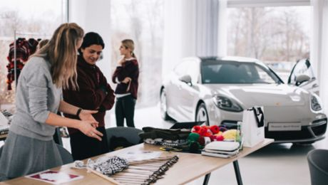 The Porsche Talent Project with lala Berlin