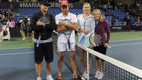 Sharapova-Event: Successful first day