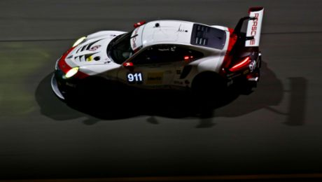 IMSA: Successful test for the new 911 RSR