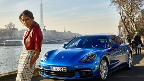 En vogue: Panamera in Paris
