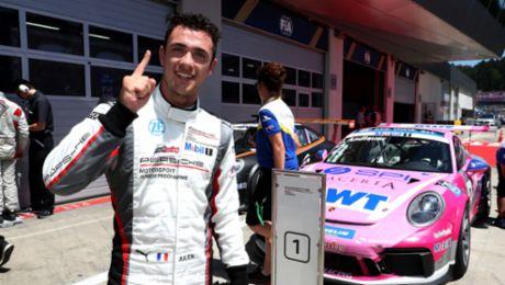 PMSC: Porsche Junior Andlauer wins sweltering Spielberg race