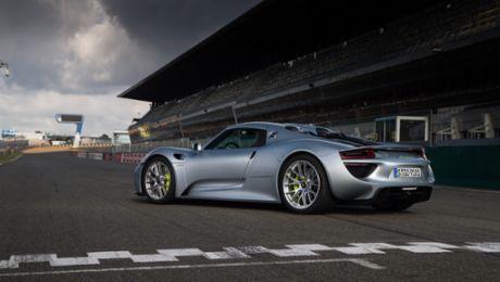 918 Spyder: Neue Rekordfahrt