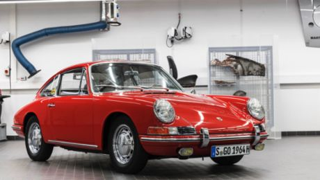 The return of the Porsche 911 Number 57