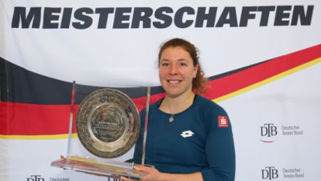 Tennis: Anna-Lena Friedsam is German champion