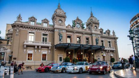 Monte Carlo Rally heroes at Col de Turini