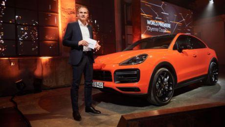 Porsche presents the Cayenne Coupé