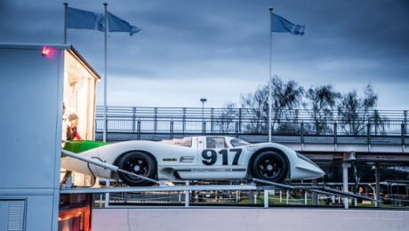 50 years of 917 celebrated at Goodwood