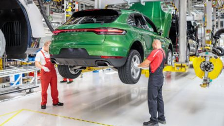 Start of production for the new Porsche Macan