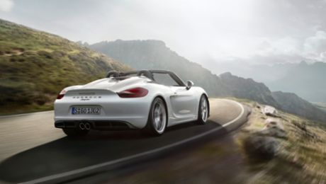 World premiere for the new Boxster Spyder