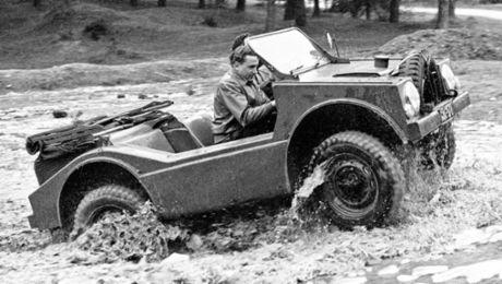 """A rare all-rounder: Porsche 597 """"Jagdwagen"""""""