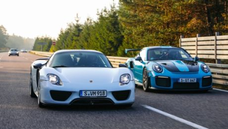 The Porsche Top 5 series: Superlative speed