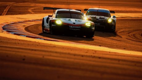 Porsche pilots face catch-up race in title fight