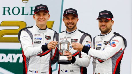 IMSA: Porsche on the podium at Daytona after strong team effort