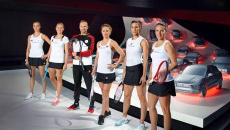 Porsche Team Deutschland besucht Autostadt