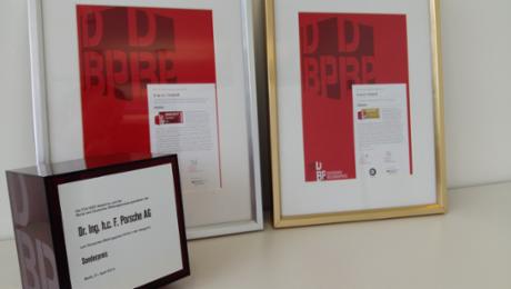 Bildungspreis für Porsche Dealer Academy