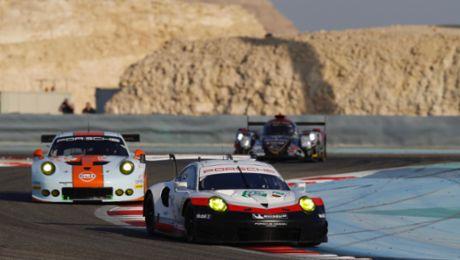 Porsche GT pilots aim for the world championship crown