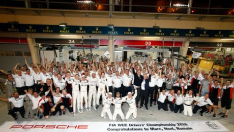 Porsche wins drivers' world championship