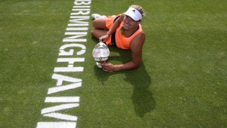 Angelique Kerber gewinnt drittes WTA-Turnier