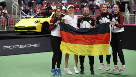 Tennis: Porsche Team Germany still first class