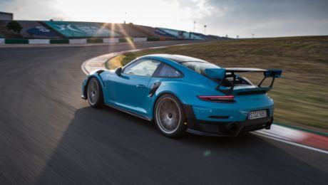 On a performance mission with the 911 GT2 RS