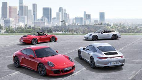 Digitale Präsentation des 911 Carrera GTS