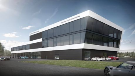 """Porsche Experience Centre"" at the Hockenheimring"