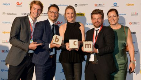 Porsche media cleans up at the BCM Award