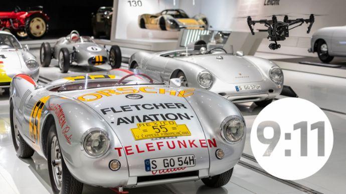Porsche-Überflieger