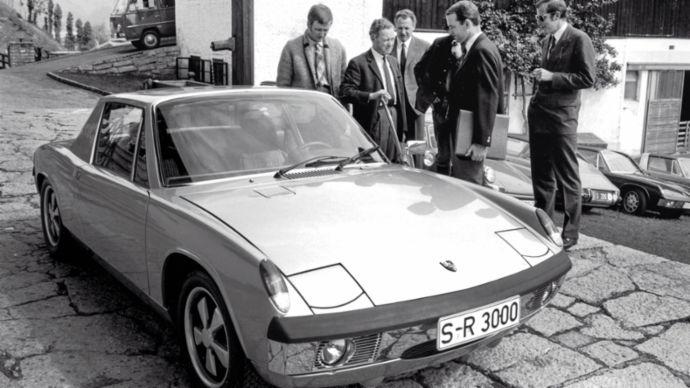 Osiem cylindrów dla Ferry'ego Porsche