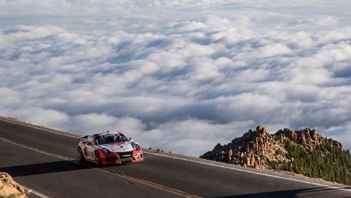 Porsche At The Race To The Clouds A Class Apart