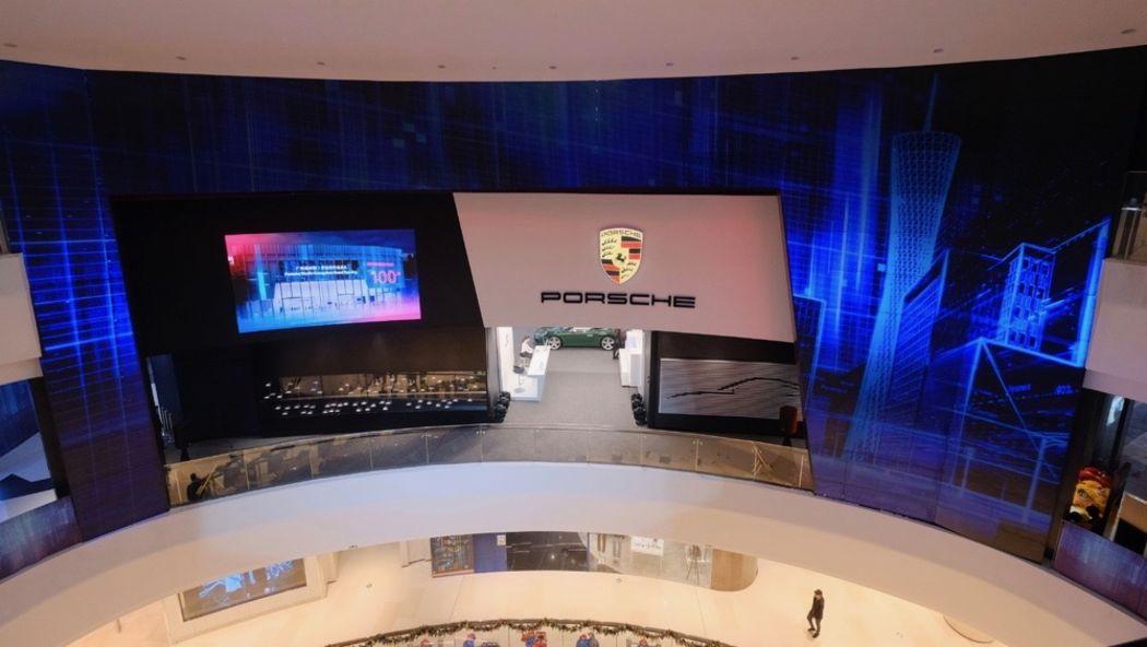 保时捷中国第100家销售网点——广州保时捷 e 享空间落地广州