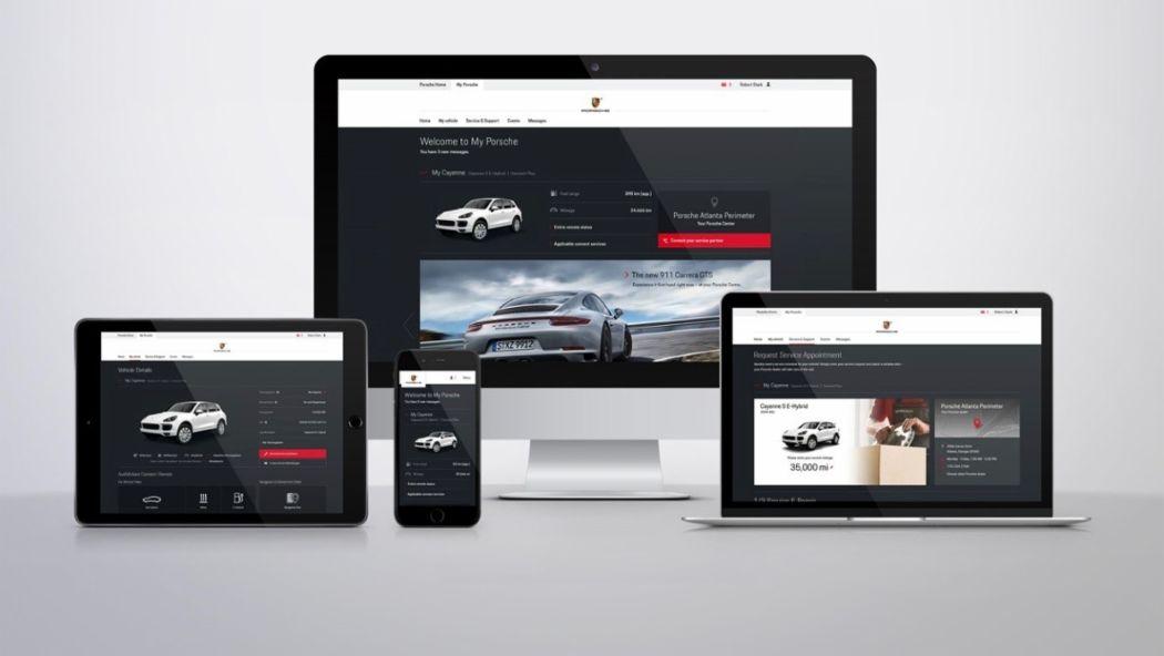 Endgeräte, My Porsche, 2018, Porsche AG