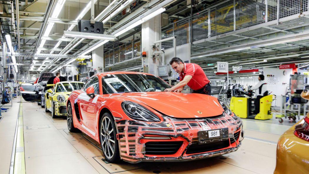 Produktion, 2019, Porsche AG