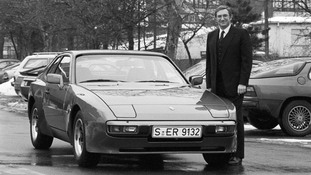 Peter W. Schutz, Porsche 944, Zuffenhausen, 1982, Porsche AG
