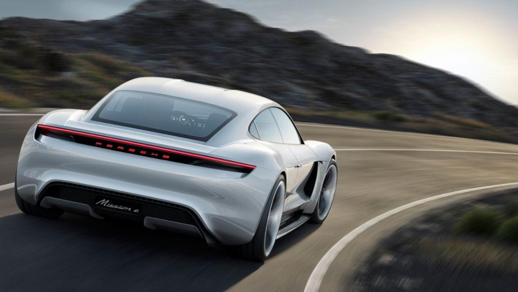 Mission E, Konzeptstudie, 2015, Porsche AG