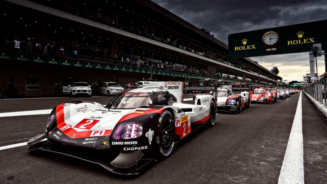 919 Hybrid, WEC, Qualifying, Mexico City, 2017, Porsche AG