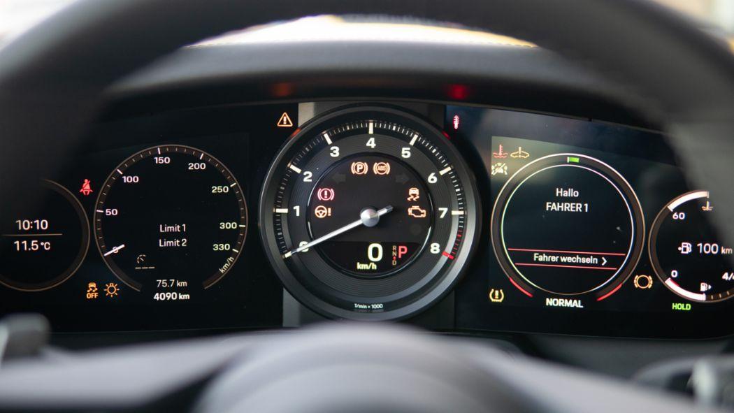 911 Carrera 4S (992), rev counter, Porsche AG