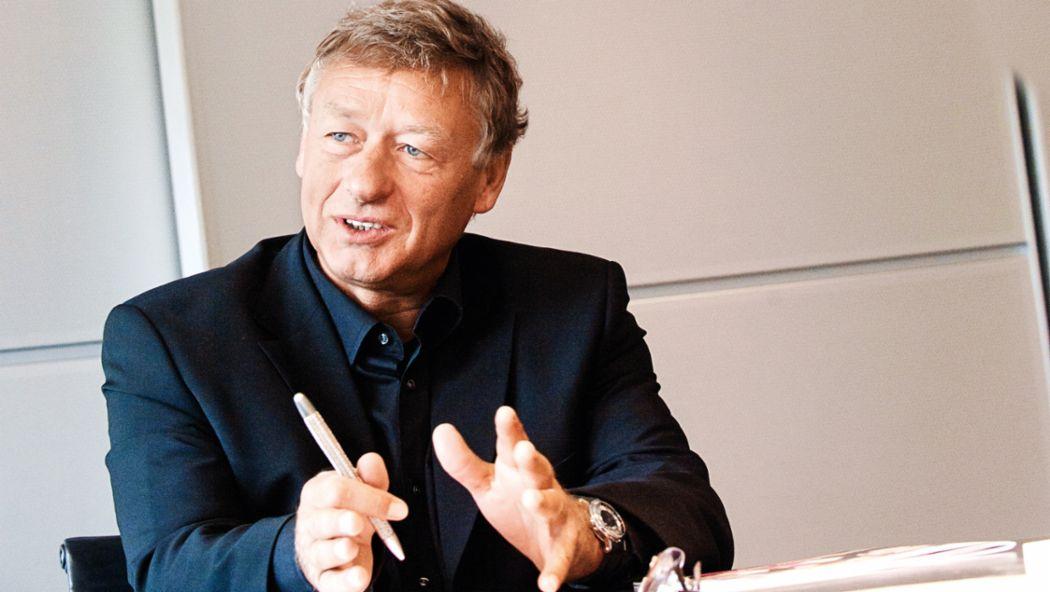 Hermann Tilke, civil engineer, 2015, Porsche AG