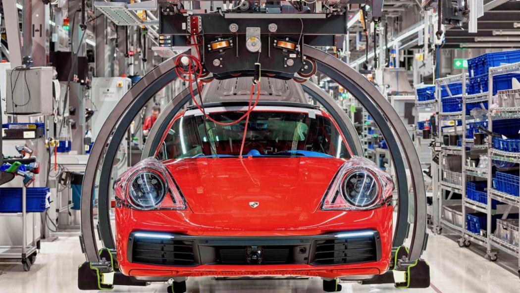 Porsche production, 2019, Porsche AG