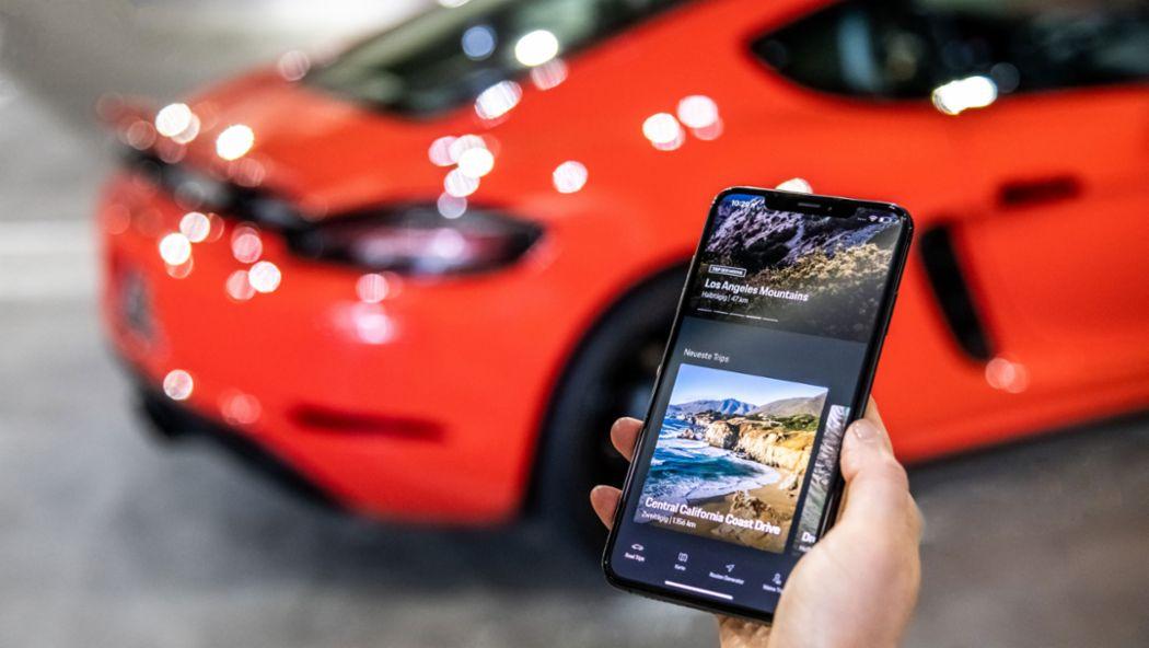 Porsche Road Trip, digital tour guide, 2018, Porsche AG
