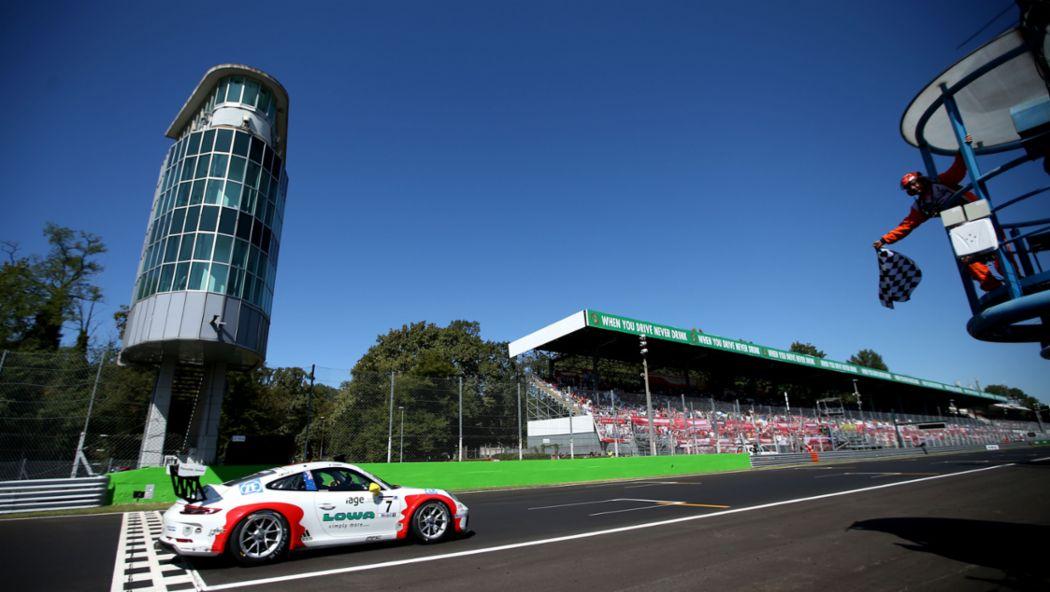 911 GT3 Cup, Porsche Mobil 1 Supercup, race 9, Monza, Italia, 2017, Porsche AG