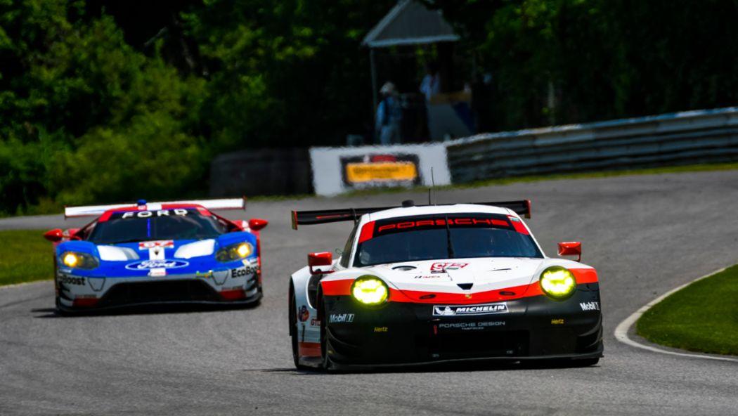 911 RSR, IMSA WeatherTech Sportscar Championship, Qualifying, Lime Rock, USA, 2017, Porsche AG
