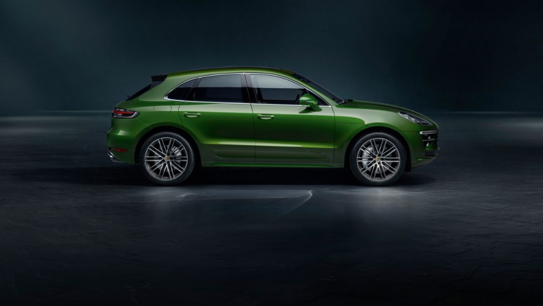 Stronger, faster, more agile: the new Macan Turbo
