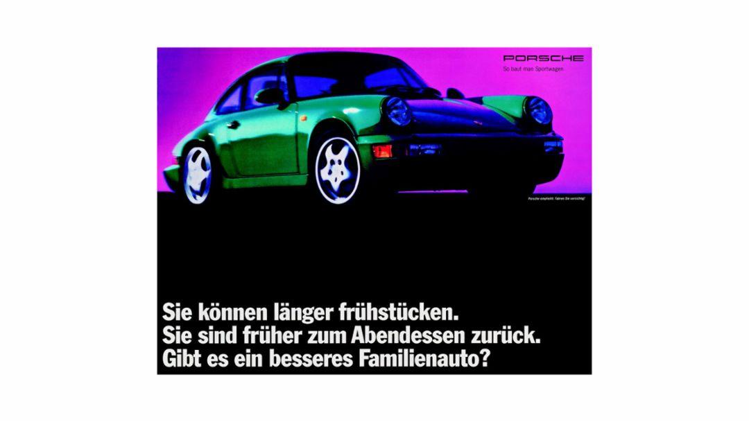 Porsche Anzeige zwischen 1992 und 1994