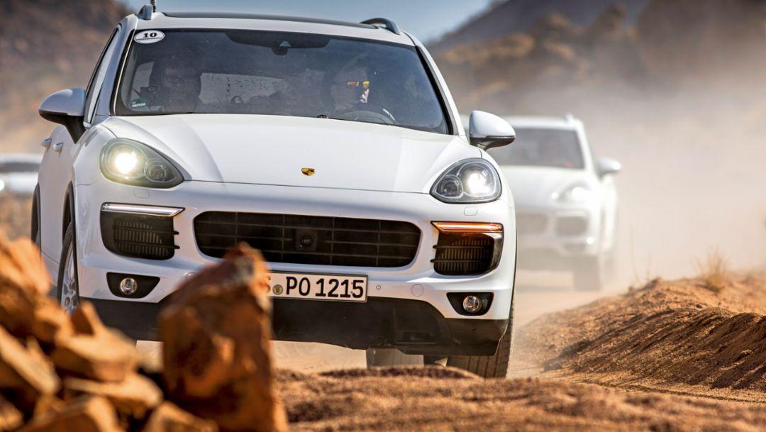 Cayenne S, Namibia, 2016, Porsche AG