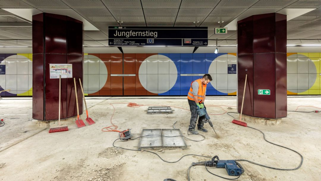 Porsche Consulting: New look for the Jungfernstieg