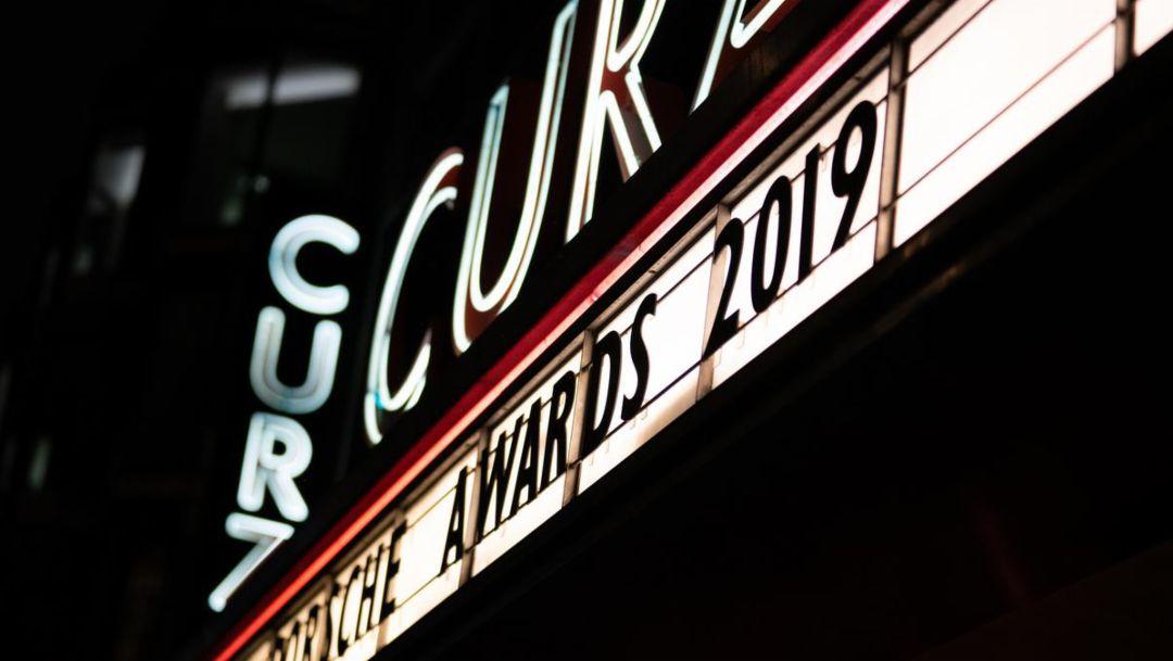 Porsche Awards 2019 ceremony in London