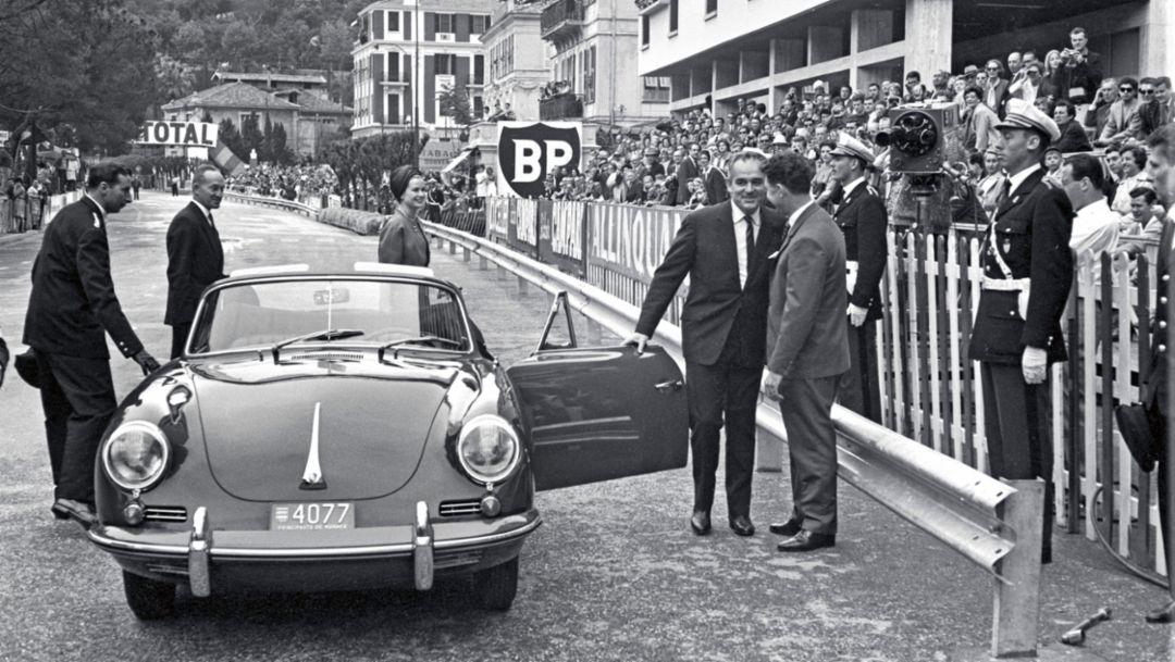 Rainier III., 1958, Porsche AG