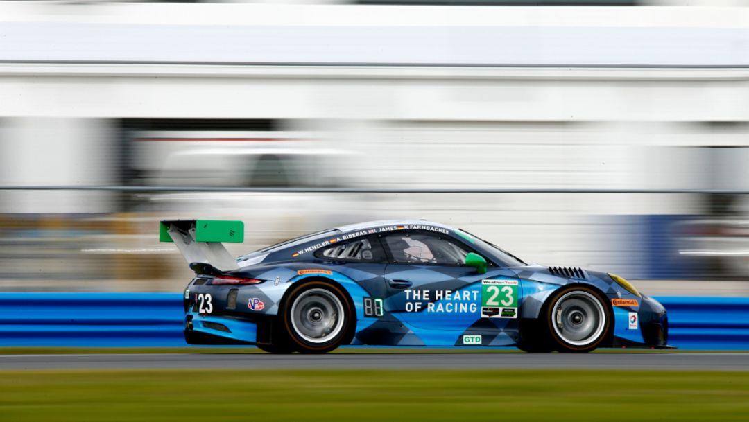 Porsche 911 GT3 R, Daytona, IMSA WeatherTech SportsCar Championship, 2016, Porsche AG