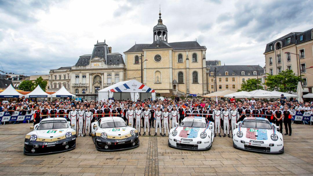 世界冠军决定赛:保时捷厂队车手将在勒芒为世界冠军头衔而战